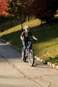 Cómo aprenderan a montar en bicicleta