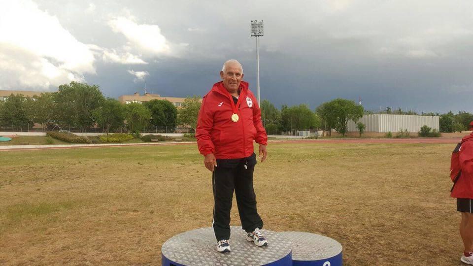 Padre hijo abuelo Campeonatos de Madrid Veterano deportivo