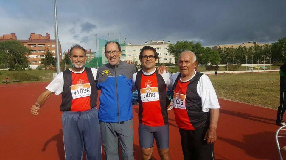 Padre hijo y abuelo Campeonato de Madrid Veterano
