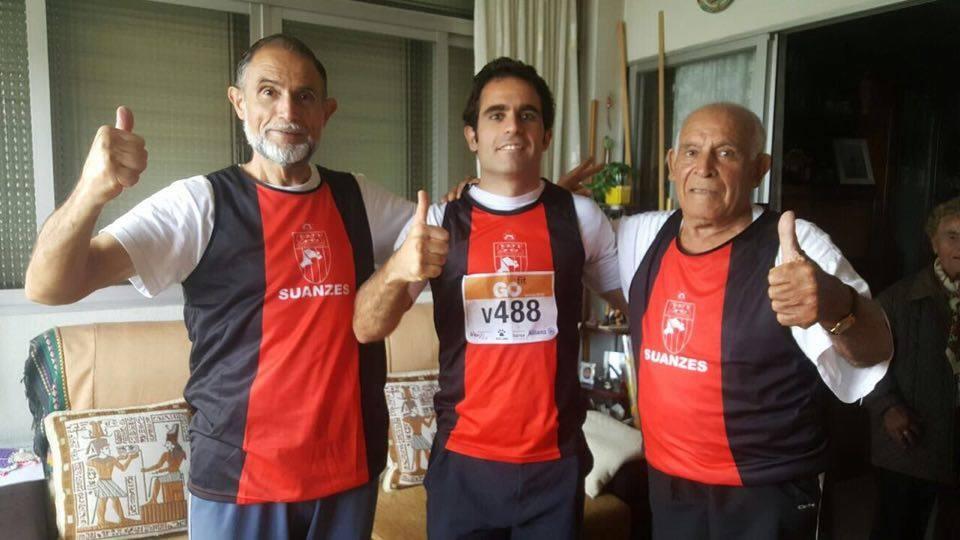 Padre hijo y abuelo Campeonato de Madrid Veteranos