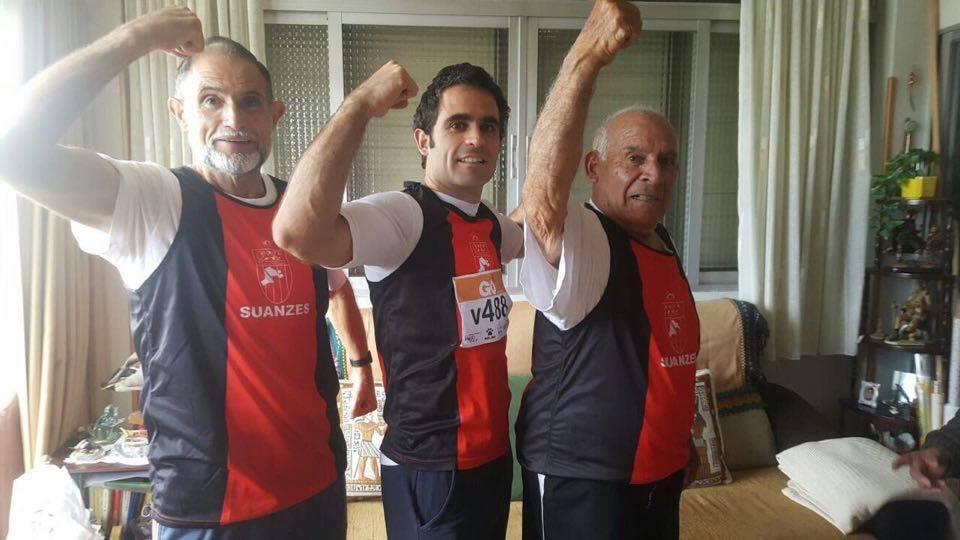 Padre hijo y abuelo Campeonatos de Madrid Veterano