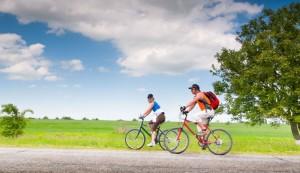 Rutas de bicicleta en familia