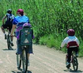 Rutas de bicicleta en familia en cataluna