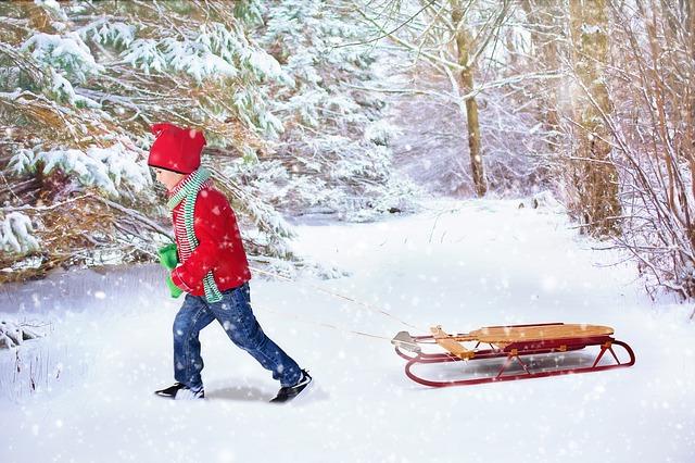 Ir a la nieve con niños y consejos sobre la ropa adecuada