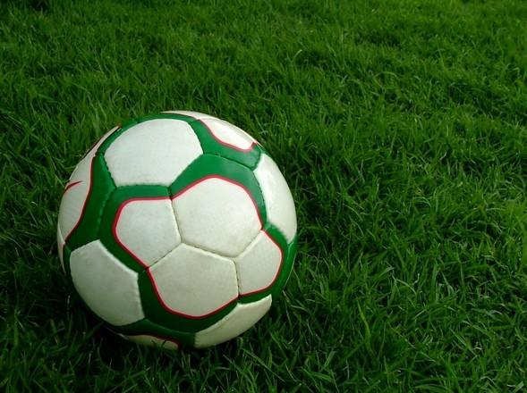el entrenamiento de fútbol y los niños
