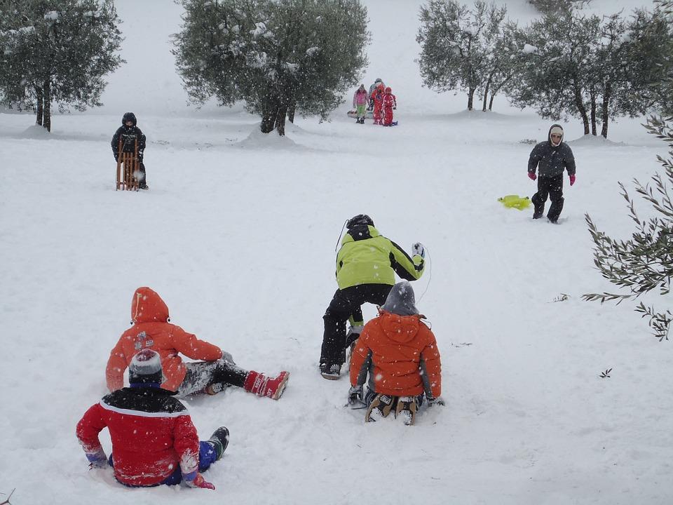 Precauciones ante el deporte infantil en invierno-pequeños