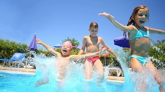 Niños en verano